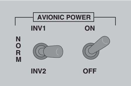 international CITATION BRAVO PILOT TRAINING MANUAL activates BOTH inverters. The No. 1 inverter normally powers the
