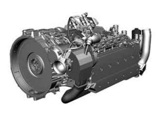 at 1200 rpm, Torque rise = 19% Steady-state full-load curves   Citaro Ü/MÜ Engine (Euro V/EEV*)