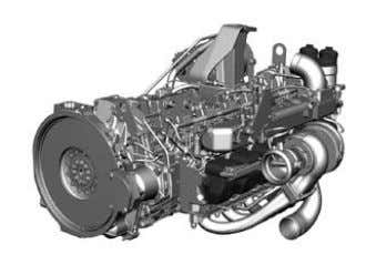 at 1100 rpm, Torque rise = 19% Steady-state full-load curves   Citaro LÜ/GÜ Engine (Euro V/EEV)