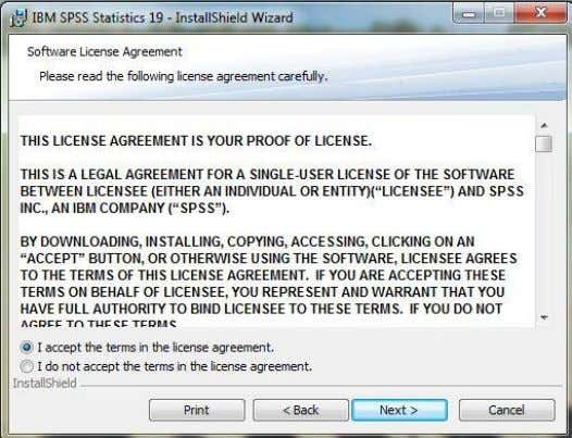 Single user license lalu klik next 4. Pilih I accept the terms in the license agreement