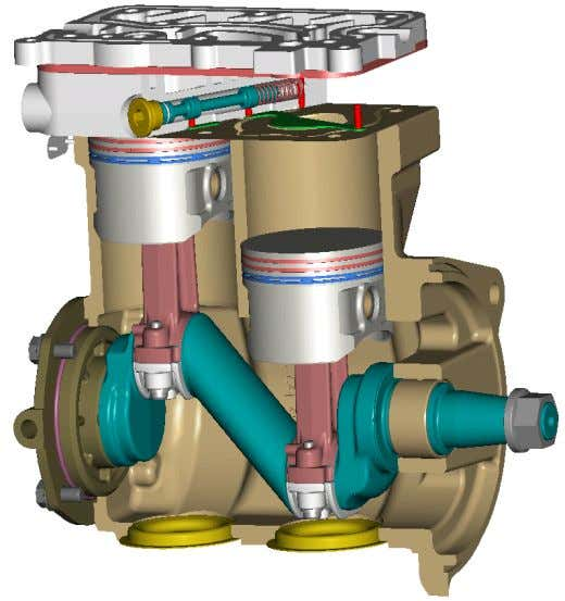 Design Features WABCO Compressors • crank case - monoblock for cost efficiency and good stiffness/roundness of
