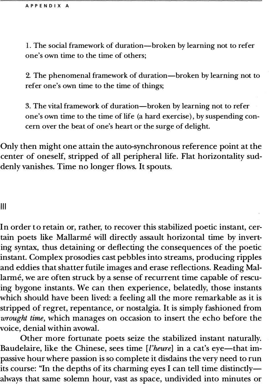 A P PENDIX A 1. The social framework of duration-broken by learning not to refer