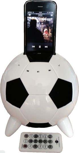 Gibbs reviews the little ball that wants to rock your iPod ball, which itself is available