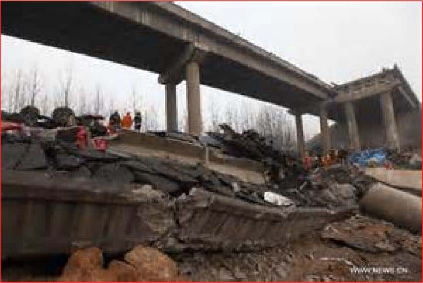 INGEGNERIA ANTINCENDIO 1 February 2013, an expressway bridge partially collapsed due to a truck explosion in