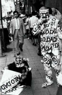 C E / C I T Y The Neo-Dada Art Actions in 1960 Tokyo FIG 3-6.