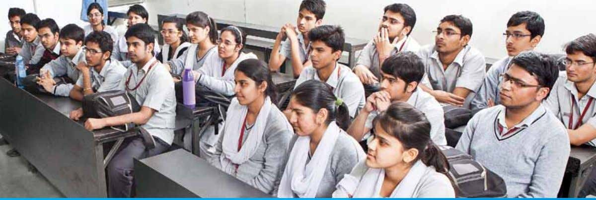 Pre-Medical Toppers classroom of 2012-13 Teaching Methodology ConCEpT BUiLding Batch wise classes are held in