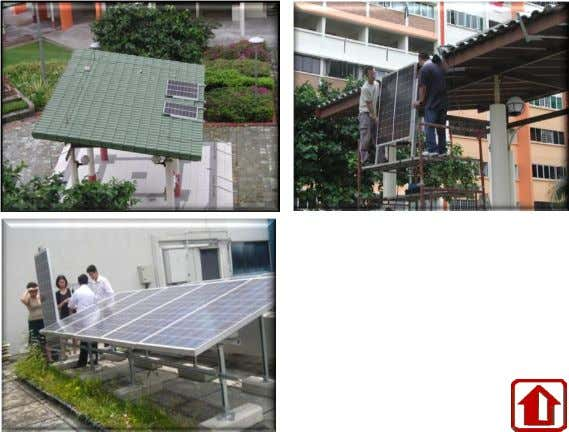106 Tampines. Hybrid system. R&D for Solar PV energy at HDB Centre of Building Research Solar