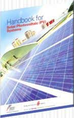 can be tied to Power Grid  Launched of Solar handbook.  Sharp increase in installation
