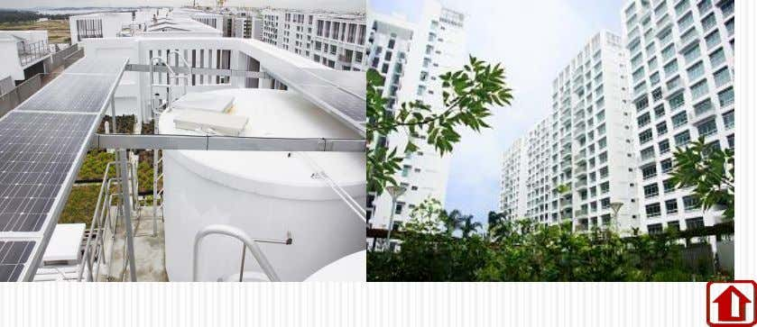 and Wellington Circle HDB's 1 s t Eco- Precinct Designed with Solar PV Incorporated Location: Treelodge@