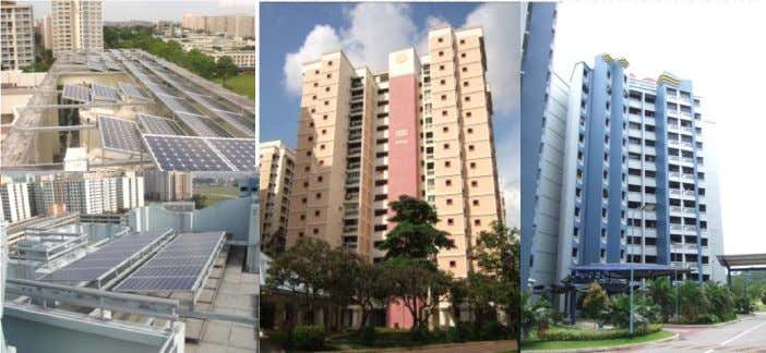 PV Procurement & Installation 1 s t Solar Test Bed Location: Serangoon North and Wellington Circle