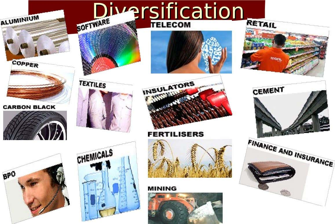 Diversification Diversification