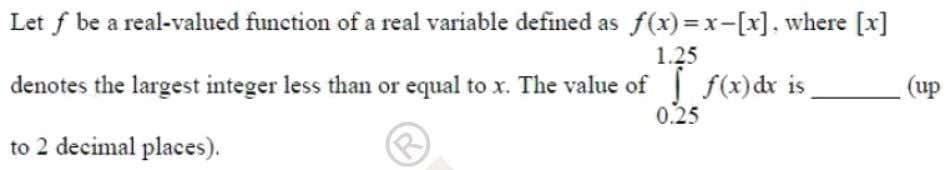 Question: 2 EE Answer: (0.5) Solutoins: f  x   x  x  