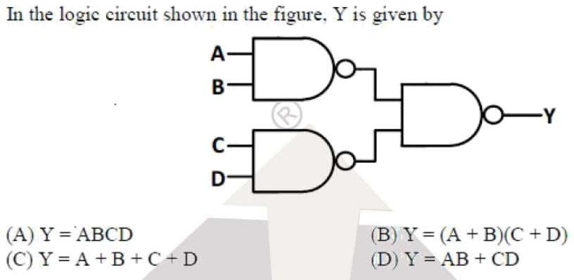 Question: 8 EE Answer: (D) Solutoins: F  AB  CD Klassroom 2019 Program for GATE-EE