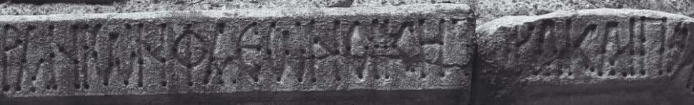 in Bithynia, boundary inscription of xenodoch- eion, c. 800 Fig. 7: Constantinople, Monastery of Constantine Lips