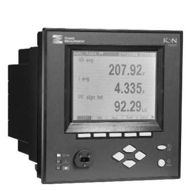 7550 | 7650 Integrated display model Intelligent Metering and Control Devices Used at key distribution points