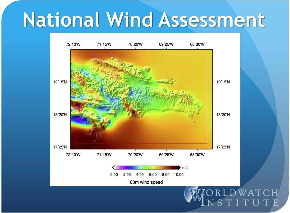 National Wind Assessment
