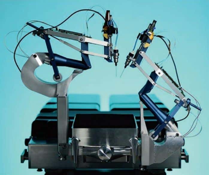 M. Steinbuch Fig. 2.5 The Preceyes eye surgery robot [ 5 ] (i.e. electric drives and