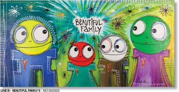 LINE B - BEAUTIFUL FAMILY 9 : NO 350322