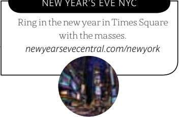 Ring in the new year in Times Square with the masses. newyearsevecentral.com/newyork