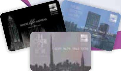 Card with as little as AED 50 or more. With so many places to spend, you'll
