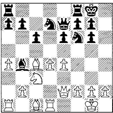 for Kramnik's 12 next game. 'i'a5, see the 13 e4 Wait a minute! Wasn't Black play-