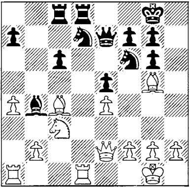 1 l:!:b8 23 iLd2 cated. iLa5! 1 6 .�.bxc6! My opponent had underestimated this recapture. Although