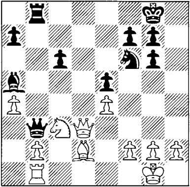18 .!:Ih3? CLle6 ! White's 17th and 18th moves were Protecting the d8-square, so that the