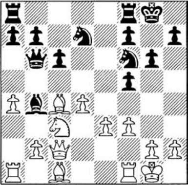 with the Black's most active plan of jl,xc3 e6-e5 e6-e5 Preventing e3-e4 by attacking the d4-pawn,