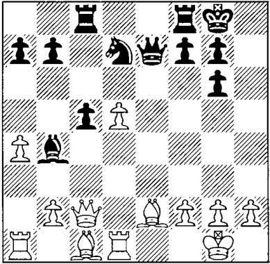 exdS (17 Mxds loses 15 dS exdS 16 cS the e-pawn to 17 ttJf6) freeing the