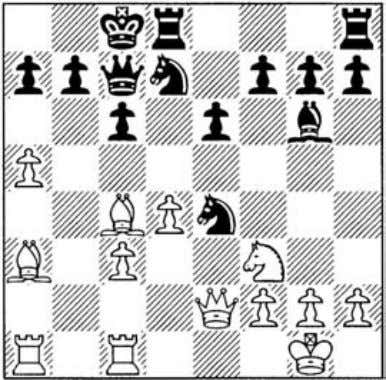 bishop pair. diagonal) 14 .ixe6! 0-0 (14 (blocking the a3-f8 13 c5 14 QJe5! QJxe5 (14