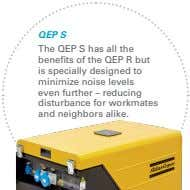 QEP S The QEP S has all the benefits of the QEP R but is