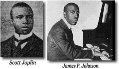 Scott Joplin (Bowie City, TX, 24 nov 1868 - New York, 1 apr 1917) che, oltre