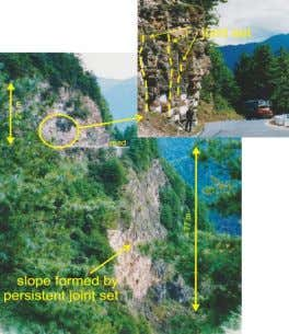Widening existing road in Bhutan (Himalayas) (3) Above road level: Visual assessment: • Joint systems