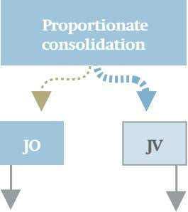 Proportionate consolidation JO JV