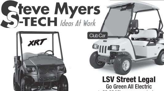 LSV Street Legal Go Green All Electric