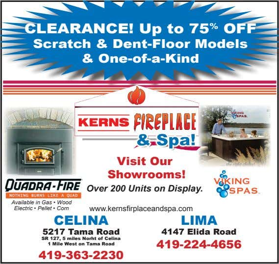 CLEARANCE! Up to 75 % OFF Scratch & Dent-Floor Models & One-of-a-Kind Visit Our Showrooms!