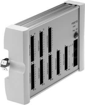 output signals and requiring complex signal combinations. Fig. 3.18: PLC (Festo FEC ® Standard) Input module