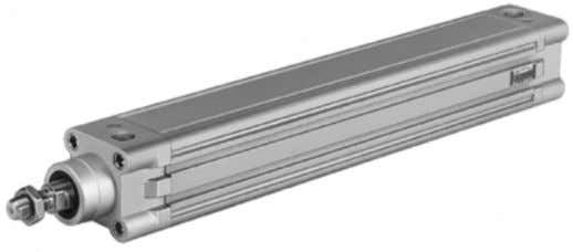 pneumatics is used in a wide range of applications. Fig. 1.1: Pneumatic linear cylinder and pneumatic
