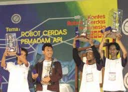 technicians in electronics/telecommunications engineering The Polytechnic Institute of Surabaya won the 2001 NHK