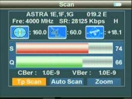 2.1.12.2 Scan All Scan all programs of all channels, and automatically store them after scanning,