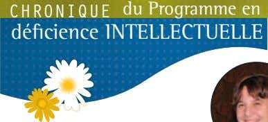 Chronique du Programme en déficience intellectuelle