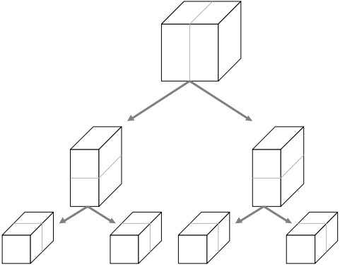 k-d tree example Data structure (3D case) Partitioning (2D case) Introduction to Pattern Recognition Ricardo