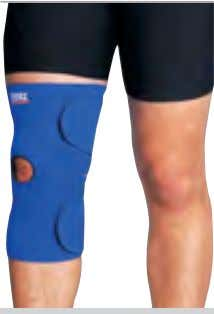 Velcro ® straps • Patellar inner circle support. TALLE: CH - M - g - xg