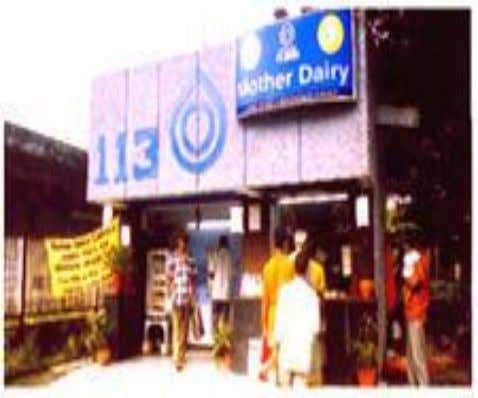 "to consumers. either prior to about 2 o Celsius and Milk and Milk Products: Mother Dairy""s"