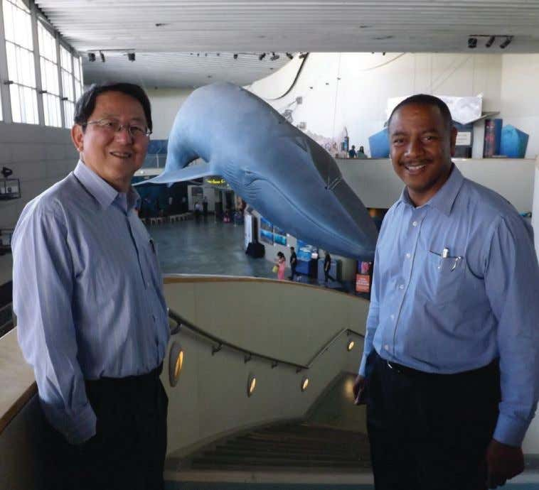 VIDEO George Yen tours the Aquarium of the Pacific, in Long Beach, California, with Immediate Past
