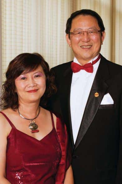 global family that is Toastmasters (beyond District 67 on George Yen and his wife, Jorie Wu,
