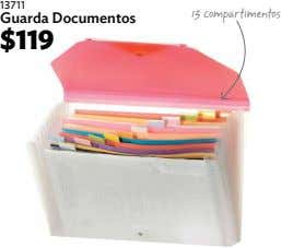 13711 13 compartimentos Guarda Documentos $119