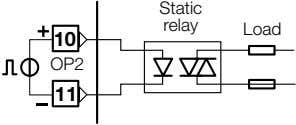 Static relay Load 10 OP2 11