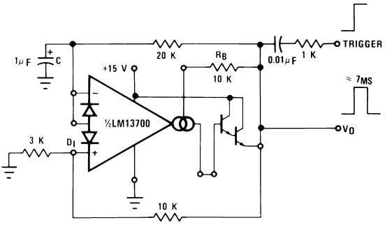Additional Applications (Continued) 00798126 FIGURE 19. Zero Stand-By Power Timer The operation of the multiplexer of