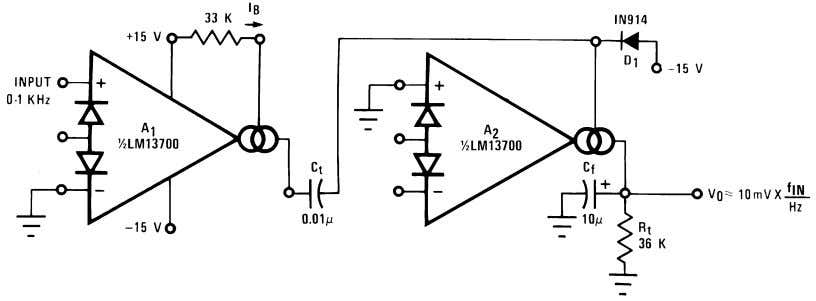 Additional Applications (Continued) FIGURE 23. Tachometer 00798130 00798131 FIGURE 24. Peak Detector and Hold Circuit The